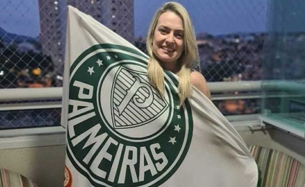 Torcedora do Palmeiras, Érica Fernandes Ceschini foi morta a facadas pelo marido corintiano