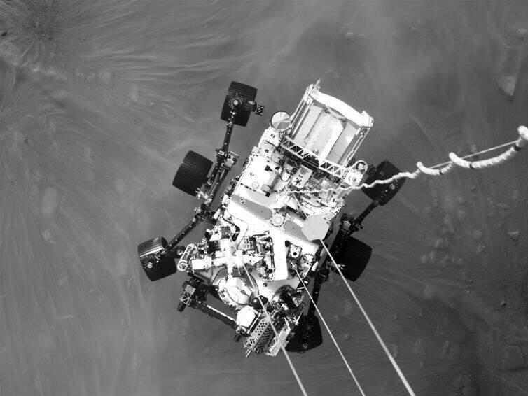 Sonda captou imagens de alta qualidade no início de sua jornada no planeta vermelho