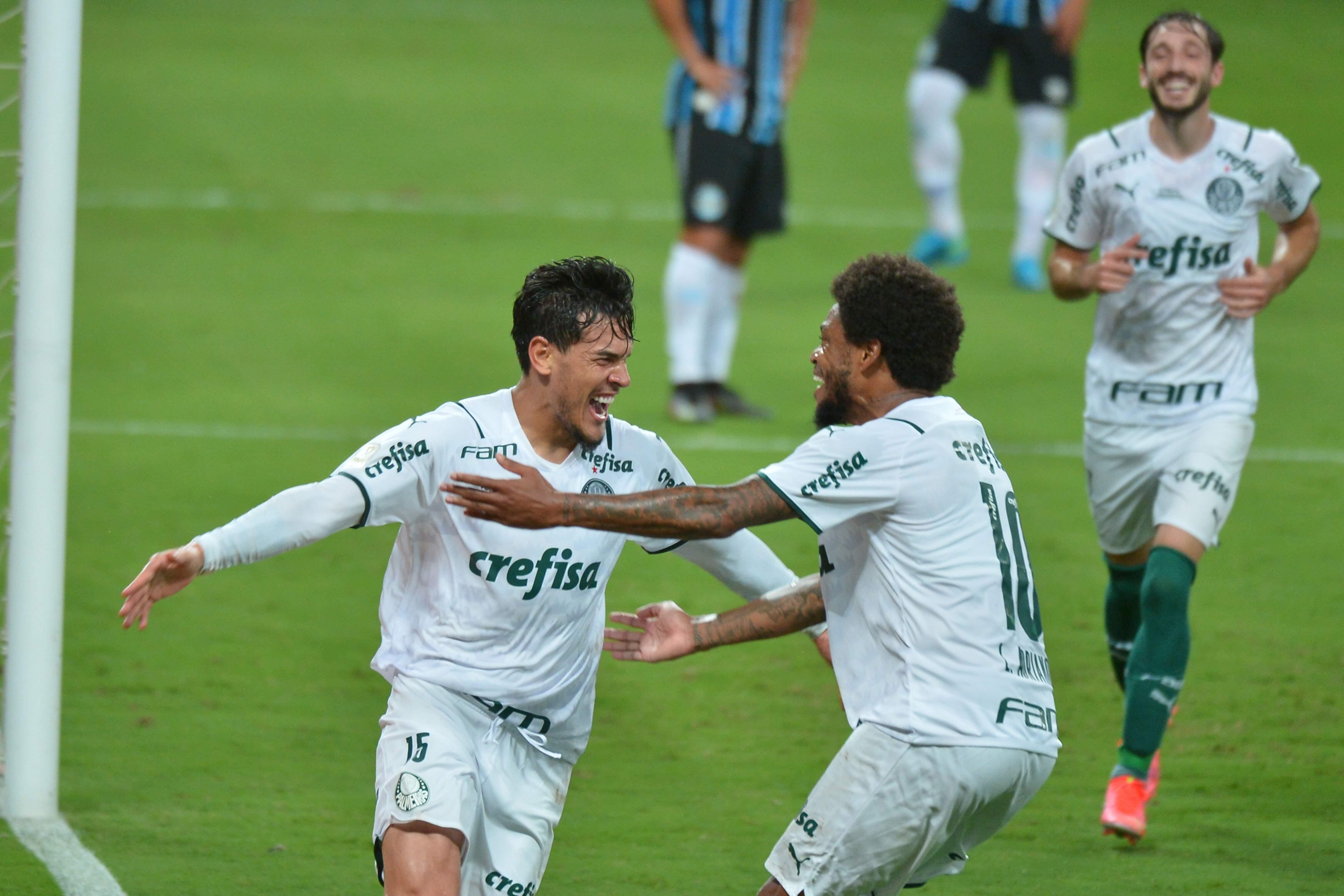 Gol de Gustavo Goméz, ainda no primeiro tempo, garantiu a vitória do Palmeiras em Porto Alegre