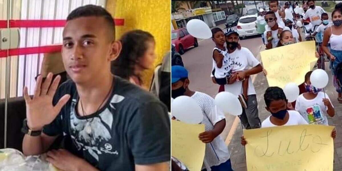 Moisés, de 16 anos, morreu ao tentar atravessar o rio na Boca da Barra, em Itanhaém