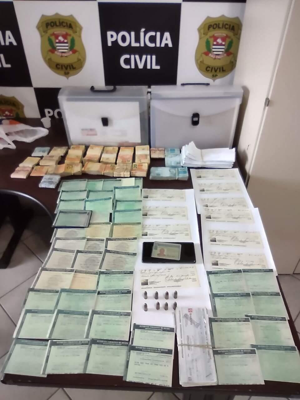 Polícia apreendeu mais de R$ 62 mil em espécie oriundos do crime organizado