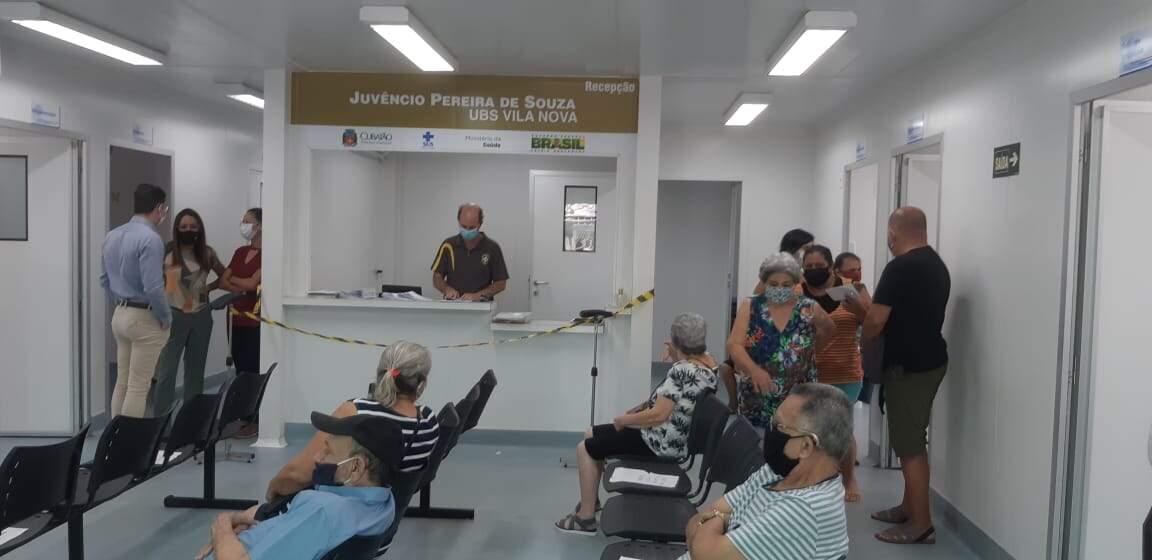 Cubatão foi a única cidade da Baixada Santista que antecipou para esta terça-feira (2) a vacinação em idosos de 77 anos e 79 anos.