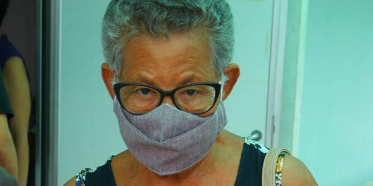 Além dos idosos, também será aplicada a segunda dose para o pessoal da saúde da rede pública
