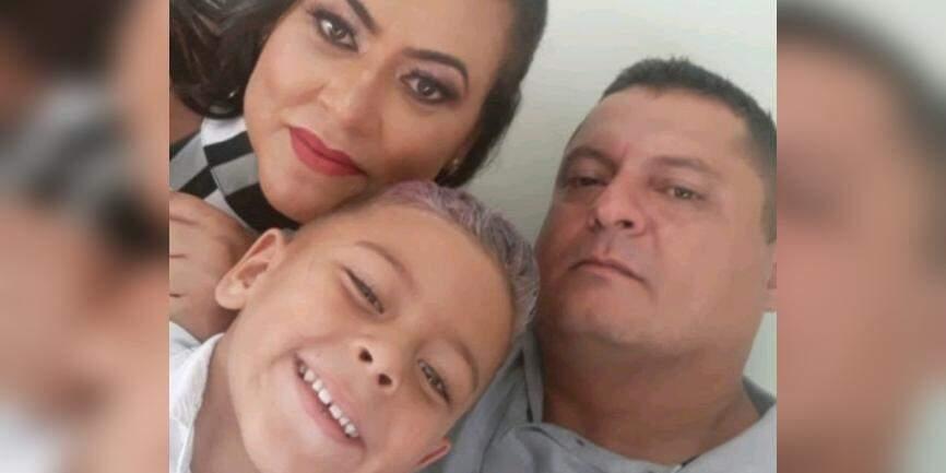 Família implora por ajuda para voltar a morar em Praia Grande