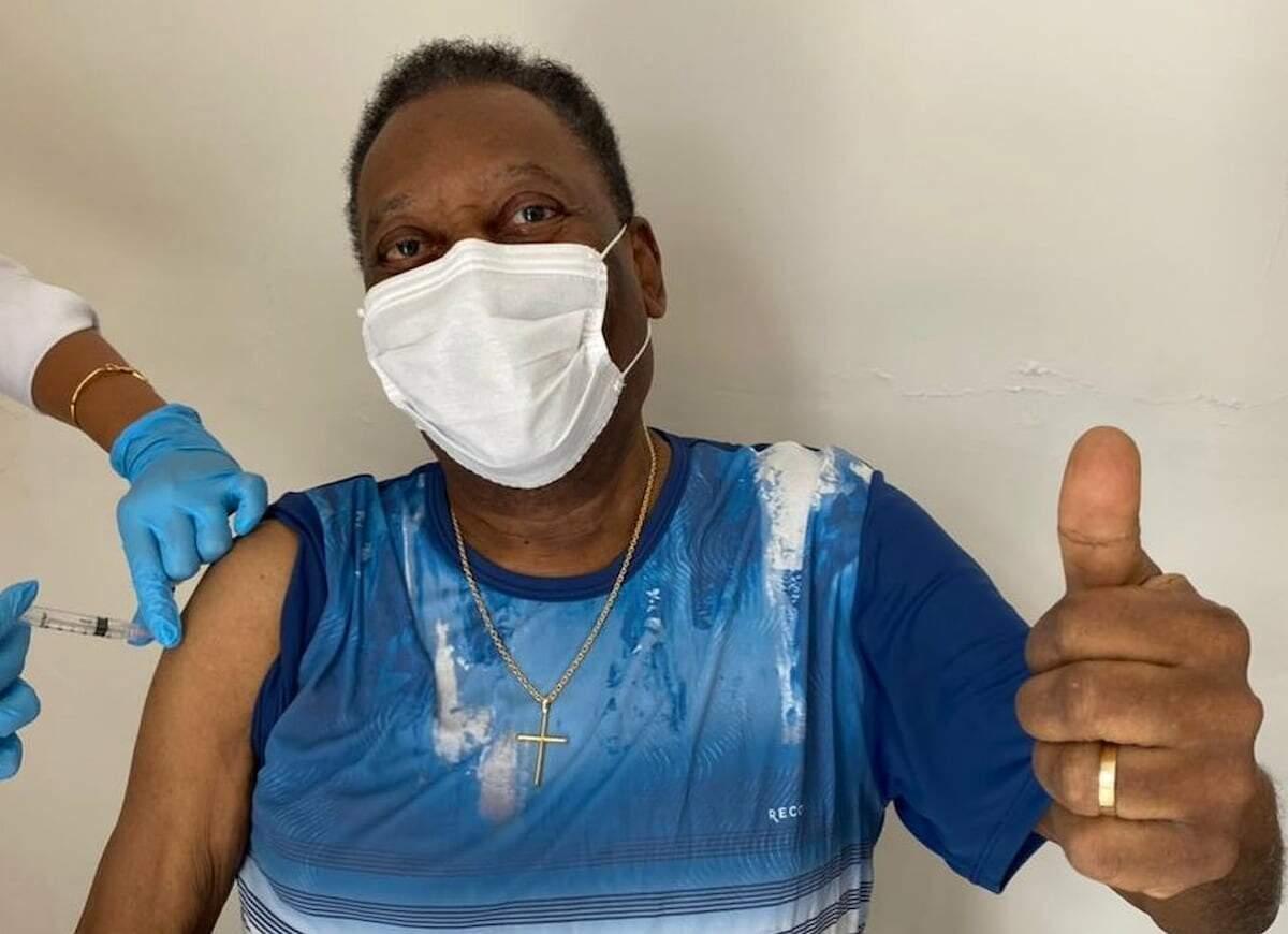 Pelé ressaltou que a pandemia ainda não acabou