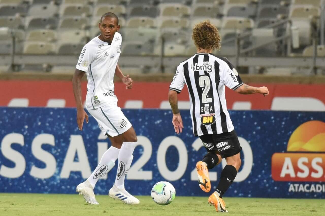 Wellington Tim fez a sua estreia nos profissionais contra o Atlético-MG
