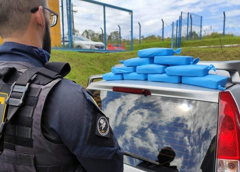 Quase 11 kg de crack foram apreendidos em Barra do Turvo