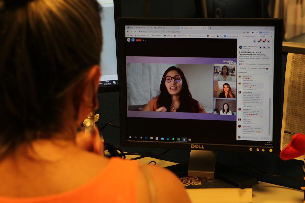 Evento foi realizado de forma virtual, com transmissão nas redes sociais do Grupo Tribuna