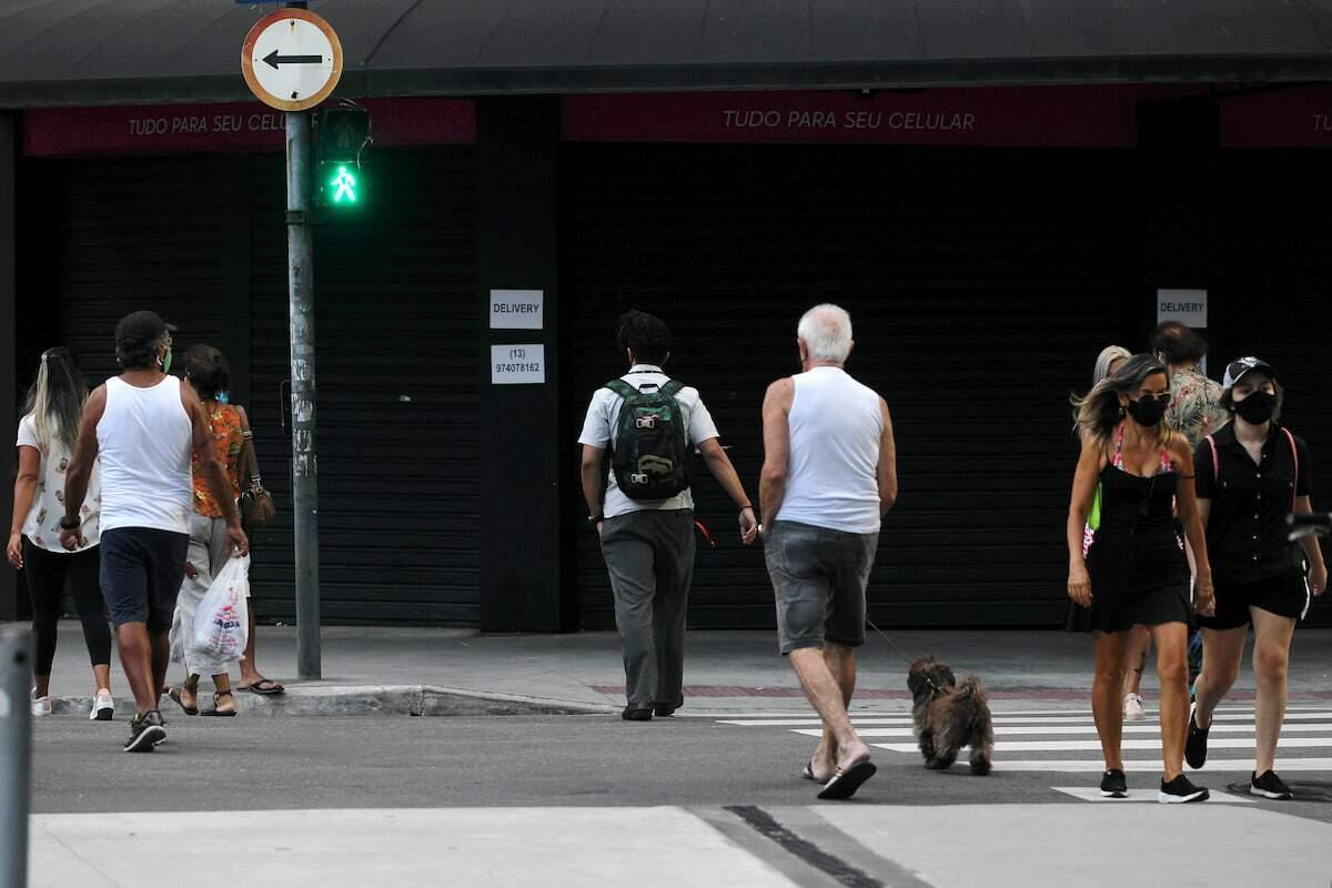 A Baixada Santista passou das 3.350 mortes por covid-19
