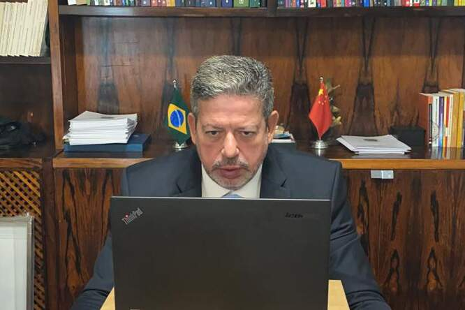 O presidente da Câmara, Arthur Lira (PP)