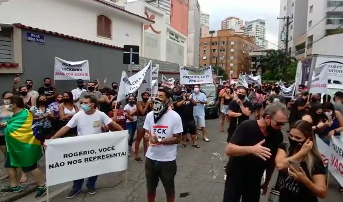 A categoria tem realizado manifestações, desde o último sábado (6)