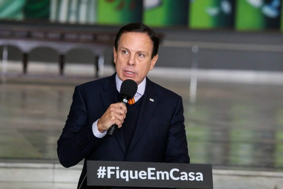 João Doria anunciou hoje fase mais restritiva do Plano SP
