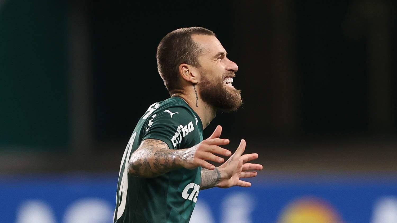 Lucas Lima se destacou na vitória contra o São Caetano